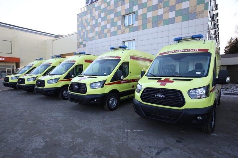 34 автомобиля скорой помощи переданы в больницы региона