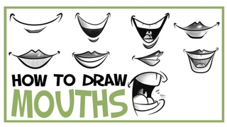 How To Draw Mouths: CARTOONING 101 #7