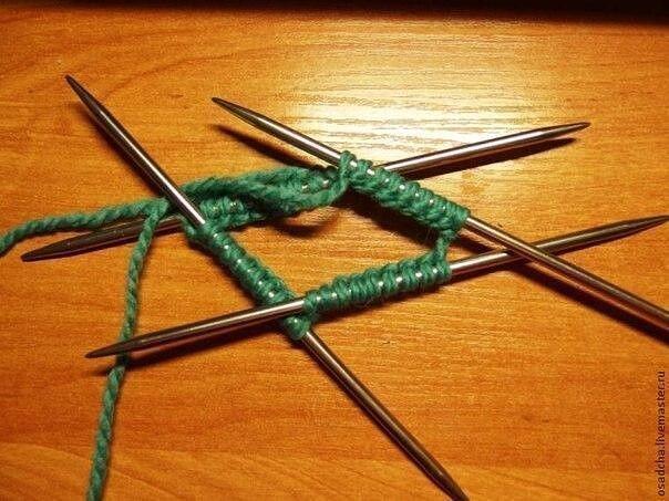 Вяжем основу-башмачок для домашних сапожек