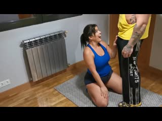 Personal Trainer Montse Swinger ( Big Ass, Tits, boobs, BBW HD porn тренер фитнес, sex, секс, мамка трах Milf, Mature )