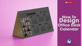 Design Office Desk Calendar for 2021 in Photoshop Sebenza Women Awards