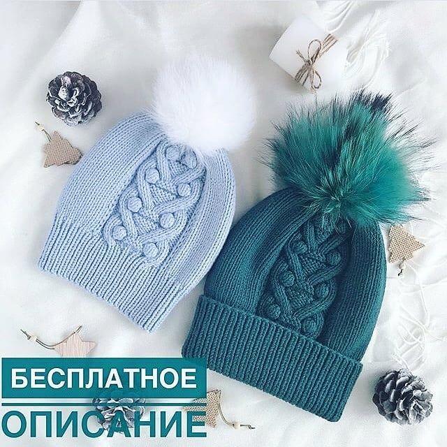 Описание красивой шапочки от мастера @tatyana_suslova_knits