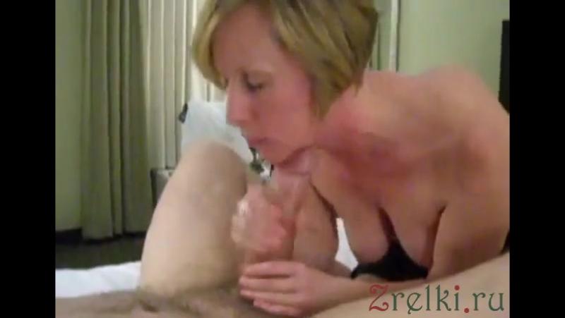 Mature Busty German Wife Made His Fat Dick Cum. Big tits