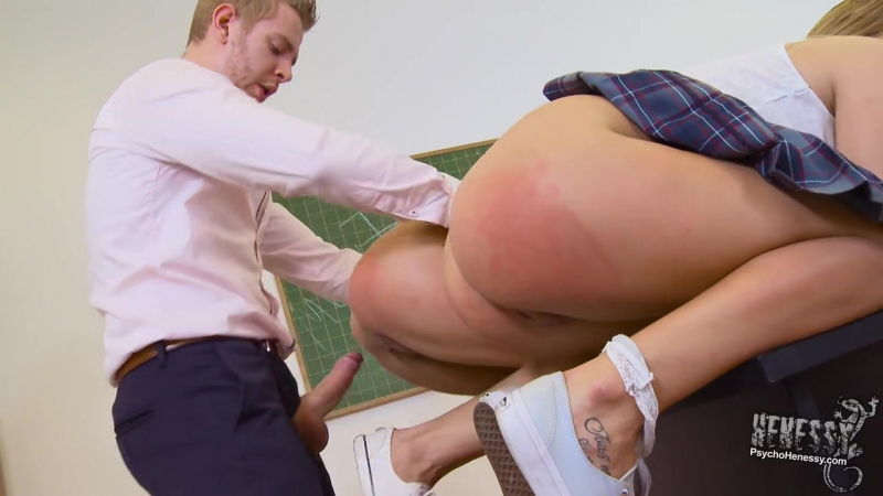 Henessy - Punish Fucked In A Classroom [All Sex, Hardcore, Blowjob, Gonzo]
