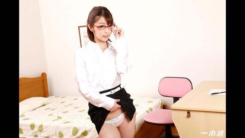 Yuki Sasaki [PornMir, Японское порно вк, new Japan Porno, Uncensored, Creampie, Slender, Shaved, Tutor]