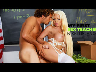 My First Sex Teacher - Nikki Delano - Naughty America September 8, 2019 New Porn