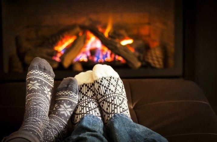 В такую погоду, желательно жить вместе: