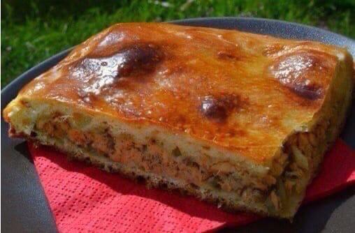Рыбный пирог на скорую руку   Пирог - просто...