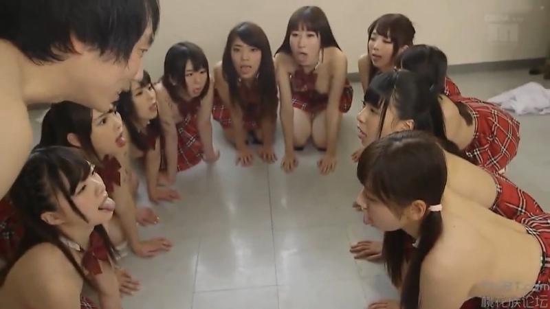 японское порно japanese porn blowjob минет сосет студентка в рот дает