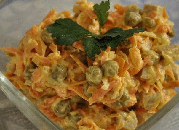Самые вкусные рецепты салатов на праздник 😍