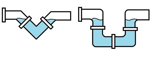 Простой и надежный гидрозатвор