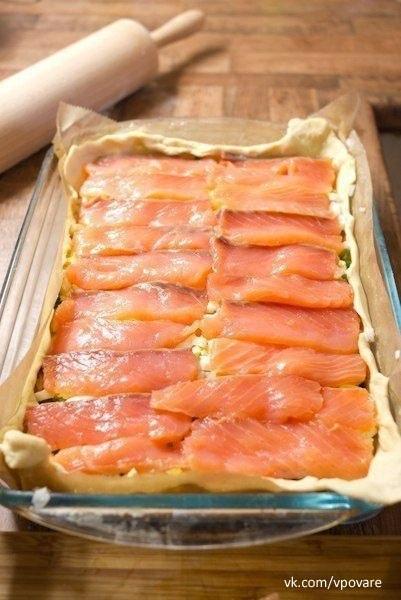Пирог с рыбой   Ингредиенты:   - Семга или Форель...