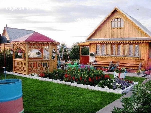 Уютный дворик))