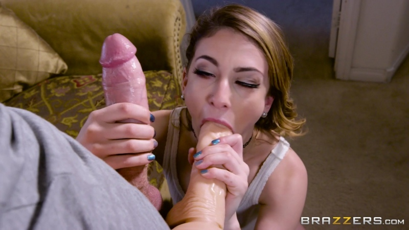 Kristen Scott (My Mom's Boyfriend's Cock)[2017 HD Porno, Brunette, Sex Toys, Порно, 1080p]