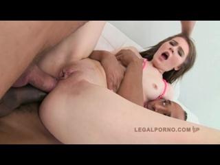 Timea Bella - Два члена в попку(2015)[Anal, blowjob, creampie, dp, gangbang, all sex, double penetretion]