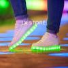 Светящиеся кроссовки | lk-store.ru