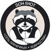 """Сеть прачечных и химчистки """"Дон Енот"""""""