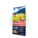 Ontario Adult Large Сухой корм для взрослых собак крупных и гигантских пород с Ягненком Индейко