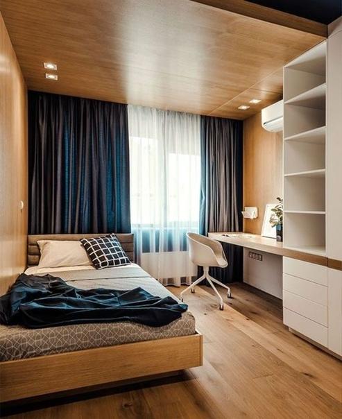 Комната для подростка, стильный вариант интерьера