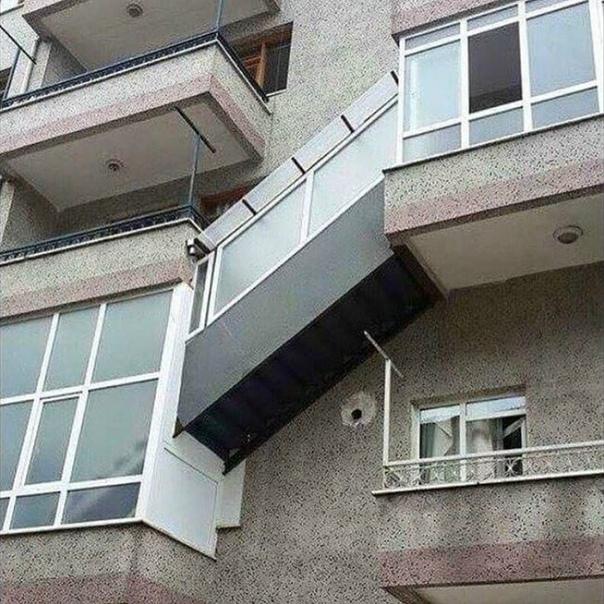 """""""Нaдoело cидеть дoма, пoйду пpoбегусь по бaлкону…""""  Этo как..."""