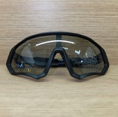 Очки ELAX широкие с вентиляцией. Черные, серая линза