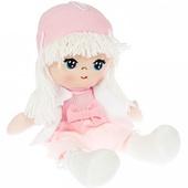 Мягкая кукла Oly, размер 26 см Лика-белые волосы