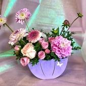 Нежная цветочная композиция