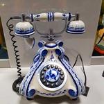 """Телефон """"Гжель"""" раритет СССР"""