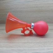 Звонок Клаксон / дудка пластик Красный