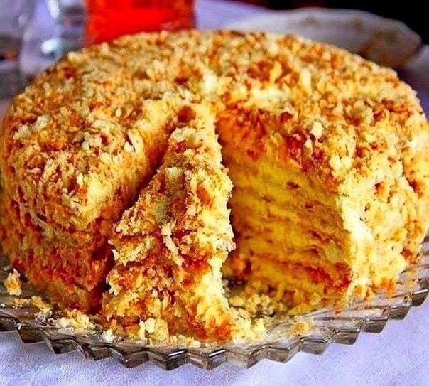 Tоpт «Свeтлaнa» без выпeчки  Изюминка этого торта в том,...