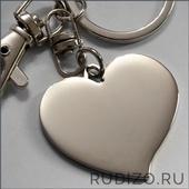 Сердце с гравировкой 37х35 мм -- арт. 18 СЕ