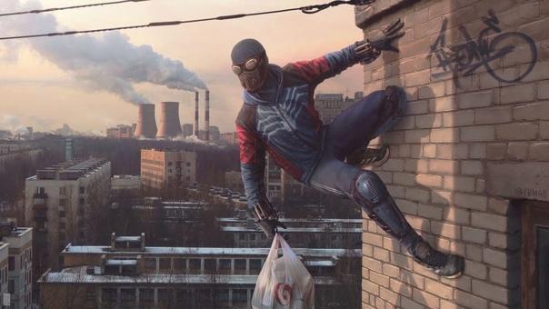 Российская версия Человека-паука ????
