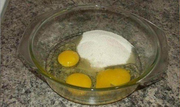Бисквит за 5 минут