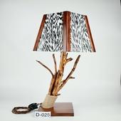 Авторский деревянный светильник DIMATI, Арт: D-025