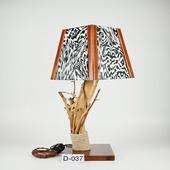 Авторский деревянный светильник DIMATI, Арт: D-037