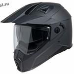 Эндуро шлем кроссовый IXS HX 208 (мотошлем), черный