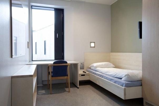 Ничего необычного,просто стандартная тюрьма в Норвегии.