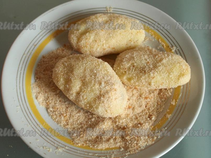 Картофельные зразы с грибами от Лики Мостовой