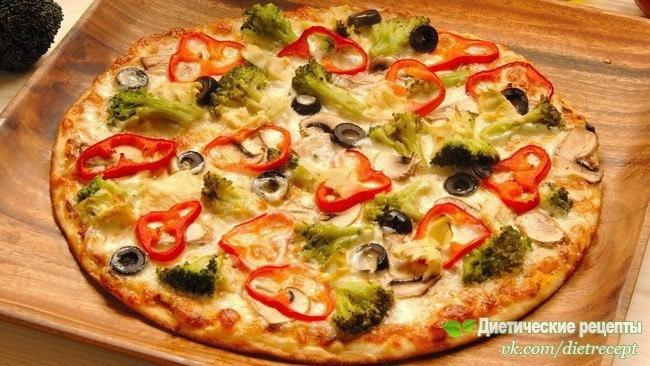 🍃 Супер вкусная и низкокалорийная пицца для худеющих 🍃