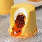 12 шт. Муссовое пирожное манго-маракуйя (1680 гр.)
