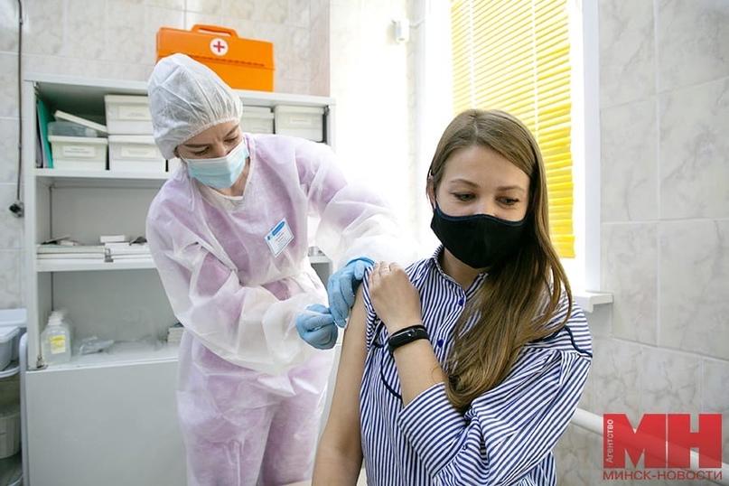 Более 3 % белорусов уже сделали первую прививку от коронавируса