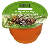 Мармелад Кедровый 220 гр. пластиковая баночка
