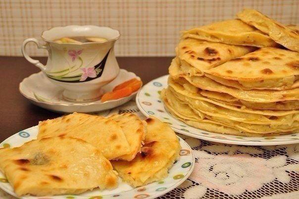 Кыстыбый - вкусные татарские лепешечки с картошкой-пюре. Оригинальное блюдо!👍