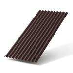 Лист кровельный Ондулин SMART 950х1950 мм коричневый