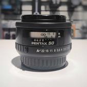 Объектив Pentax SMC Pentax FA (50mm f/1.4)