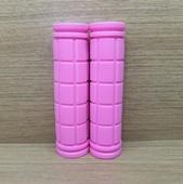 Грипсы (ручки) цветные универсальные. (1пара) Розовые