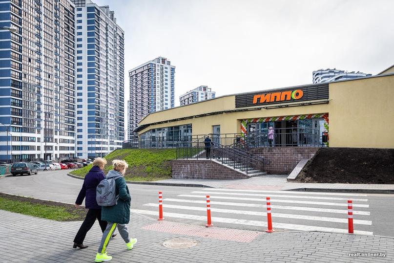 В «Минск-Мире» открылся супермаркет «Гиппо». На этот раз обошлось без ажиотажа