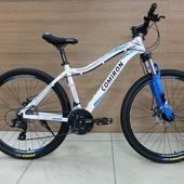 Велосипед COM ML 220 27,5' белый/голубой