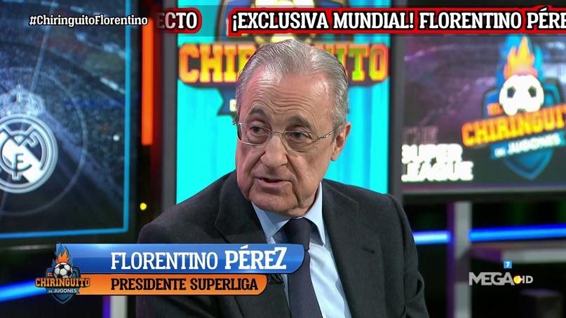 Флорентино Перес: «Без Суперлиги футбол умрет до 2024 года. Умрут как большие, т...