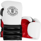Боксерские перчатки Hardcore Training GRT1 Boxing Gloves White/Black/Red